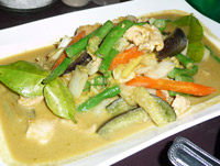 Green Curry Thors Koh Chang
